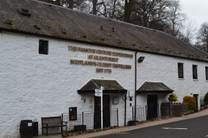 Famous Grouse Distillery, Crieff, Perthshire.